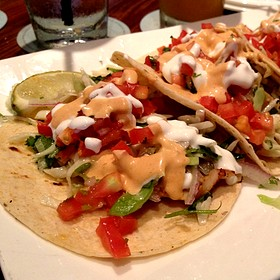 fish tacos - Tommy Bahama Restaurant & Bar - Naples, Naples, FL