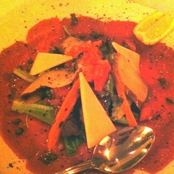 Beef Carpaccio - Enza's Italian Restaurant, Jacksonville, FL