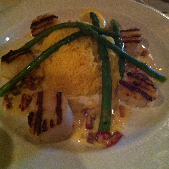 Grilled Diver Scallops - Otto's Restaurant and Bar, Madison, WI