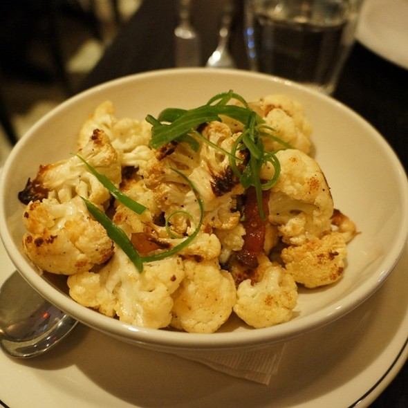 Cauliflower with bacon - The Saint, Toronto, ON