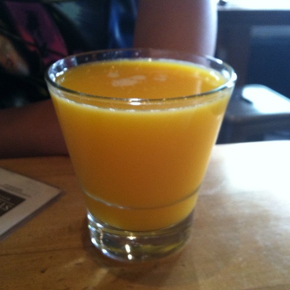 Fresh Squeezed Orange Juice - M Street Kitchen, Santa Monica, CA