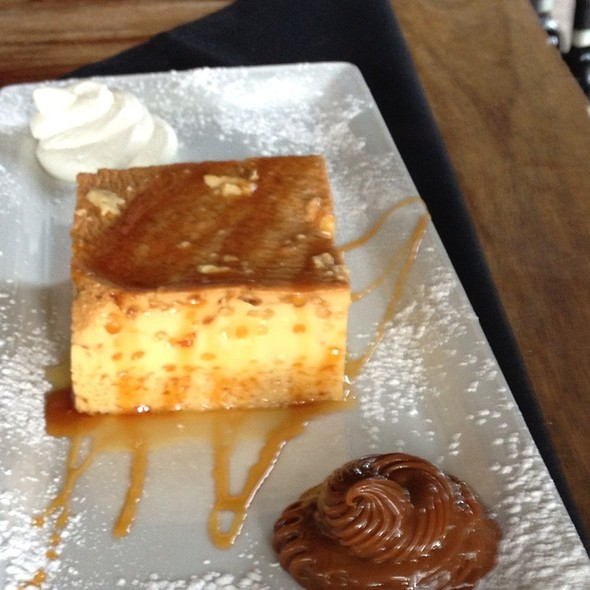 Vanilla Flan - Graziano's Brickell, Miami, FL