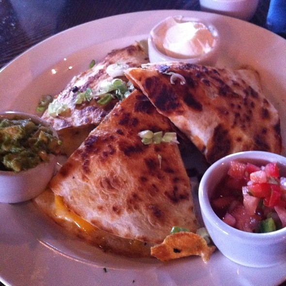 Pulled Pork Quesadilla - Cannery Row Brewing Company, Monterey, CA