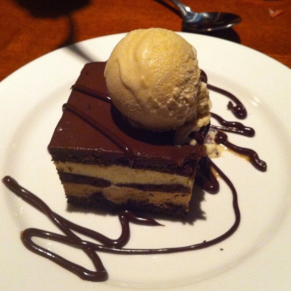 Chocolate Cake - Acre Restaurant, Chicago, IL