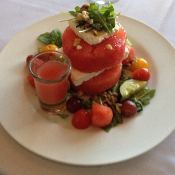 Watermelon and Feta Salad - The Pier House, Cape May, NJ