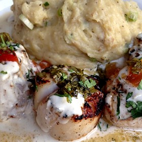 Grilled Scallops - Truluck's Seafood, Steak and Crab - Naples, Naples, FL