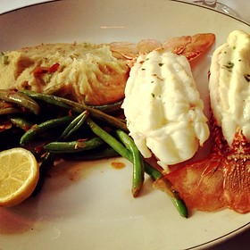 South African Lobster Tail - Truluck's Seafood, Steak and Crab - Naples, Naples, FL