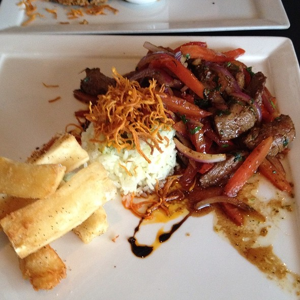 Beef With Yucca - Selva Grill, Sarasota, FL