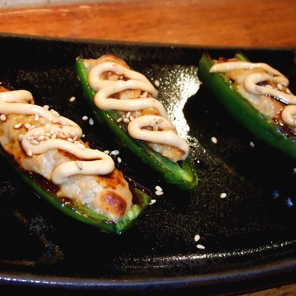 Stuffed Jalapenos - Jalapenos halves stuffed with Spicy Tuna & grilled - Kiji Sushi Bar and Cuisine, San Francisco, CA