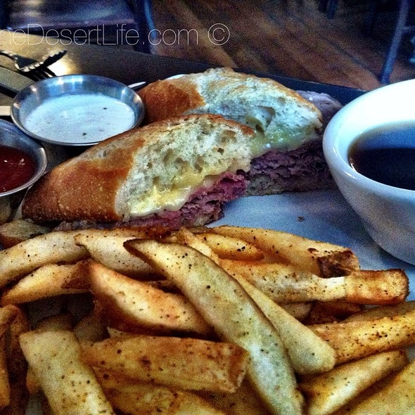 French Dip - Appaloosa Grill, Denver, CO