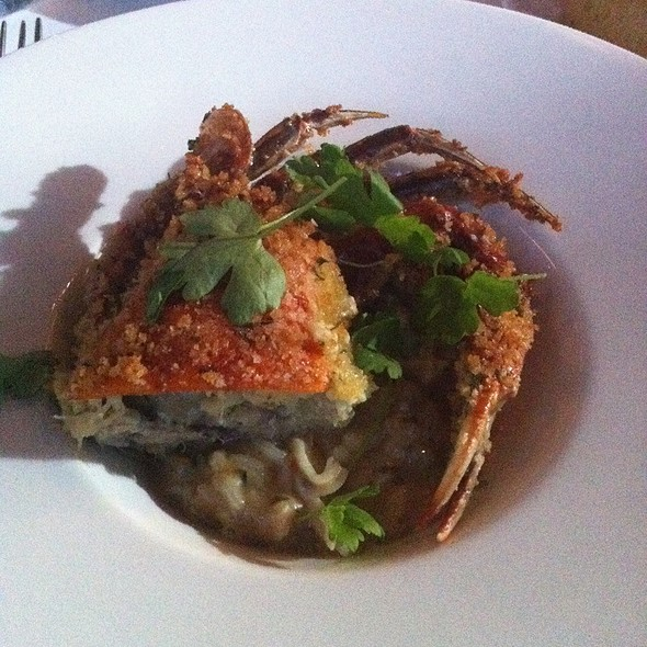 Soft Shell Crab And Risotto - Anthony's Restaurant, Kansas City, MO