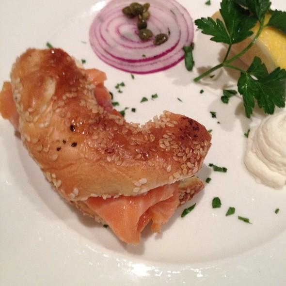 Smoked Salmon Bagel - Estiatorio Milos - The Cosmopolitan of Las Vegas, Las Vegas, NV