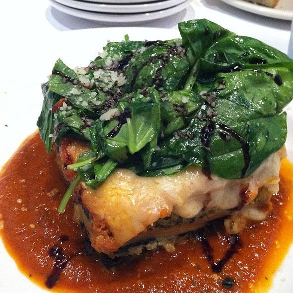 Four Cheese Lasagne - Due Amici, Columbus, OH