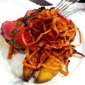Steak With Chimichurri Sauce - Prelude at McCaw Hall, Seattle, WA