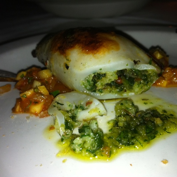Grilled Calamari - Bravi Ristorante, Toronto, ON