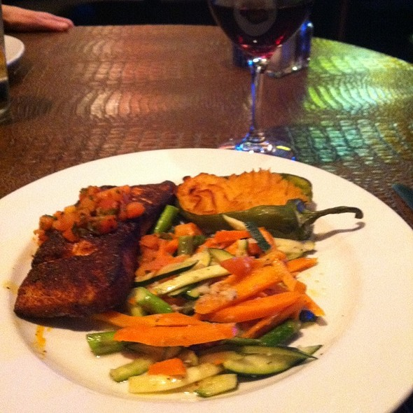 Ancho Rubbed Salmon - Blue Adobe Grille - Scottsdale, Scottsdale, AZ