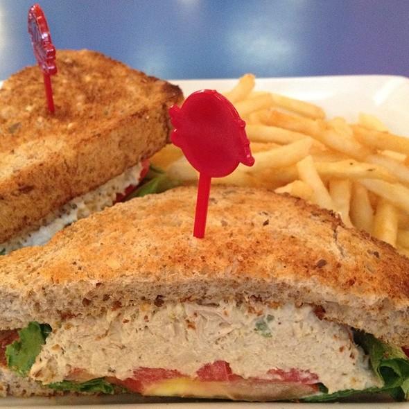 Tuna Fish Sandwich With Fries - Big Daddy's - Gramercy Park, New York, NY