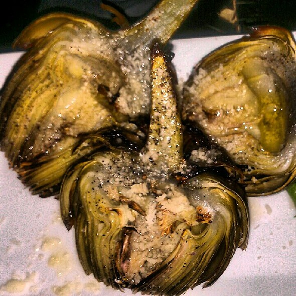 Whole Grilled Artichoke - Pazza Notte, New York, NY