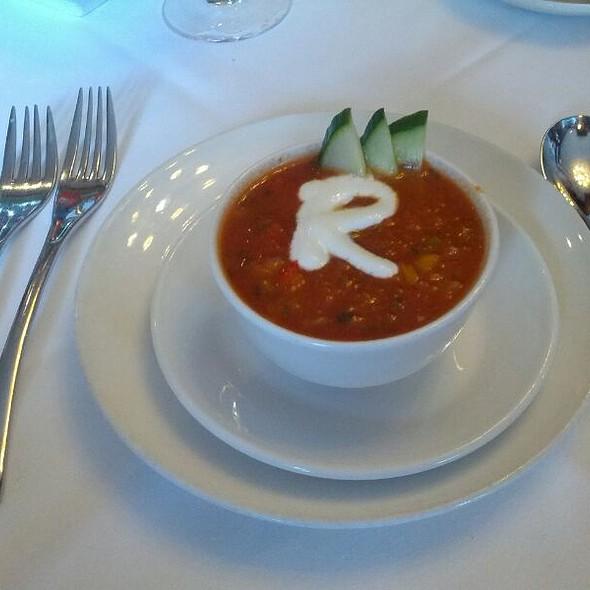 Gaspacho Soup - Rugby Grille, Birmingham, MI