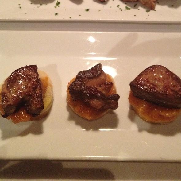 tostada de foie - Timo Restaurant & Bar, Sunny Isles Beach, FL