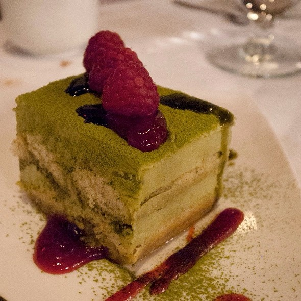 Green Tea Tiramisu - Yuwa Japanese Cuisine (fka Zest Restaurant), Vancouver, BC