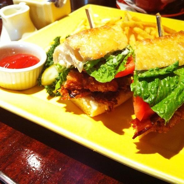 Razor Clam Sandwich - Margaux, Seattle, WA