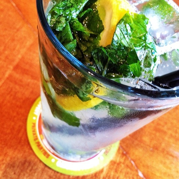 Ginger-Mint Lemonade - Food Dance, Kalamazoo, MI