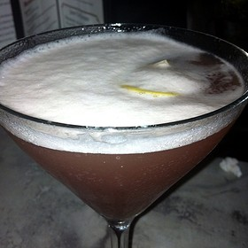French Martini - The Old Fourth Street Filling Station, Winston-Salem, NC