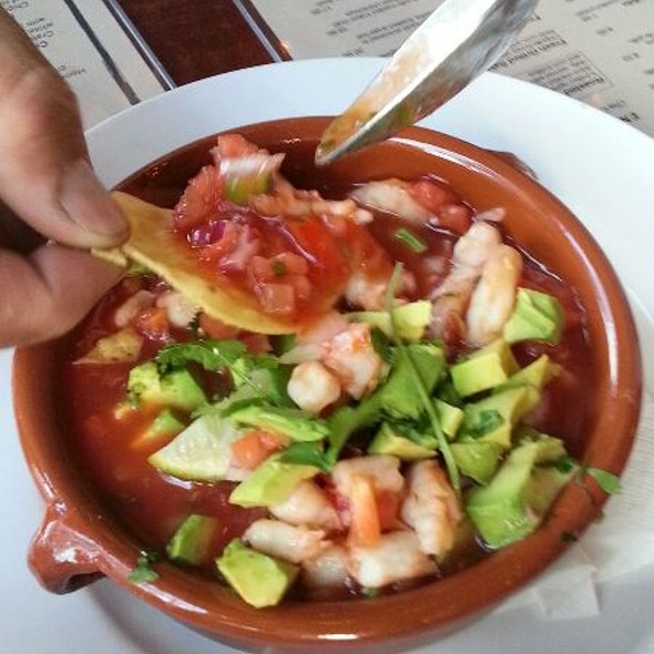 Shrimp Ceviche - Cha Cha's Latin Kitchen, Brea, CA