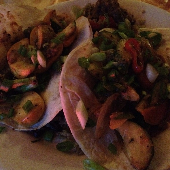 Veggie Tacos - Cosmos Cucina, Kalamazoo, MI
