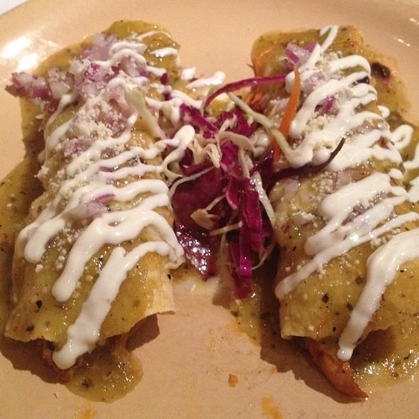 Enchiladas Suizas - El Parador, New York, NY