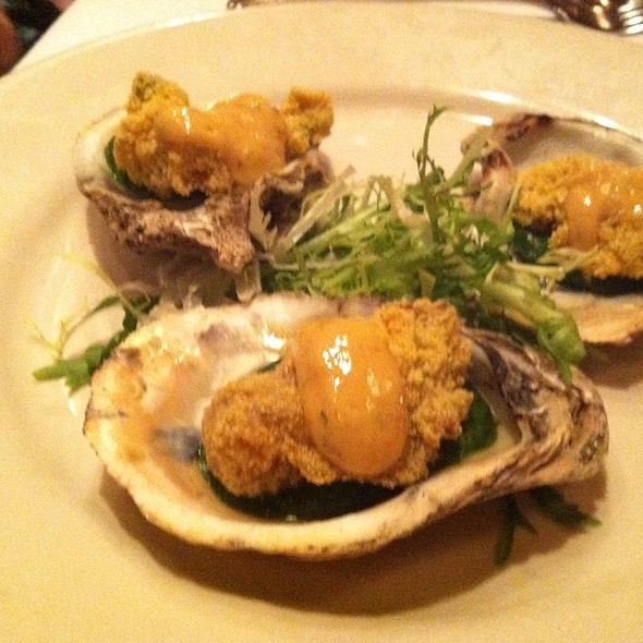 Deep Fried Oysters - Giorgio's of Gramercy, New York, NY