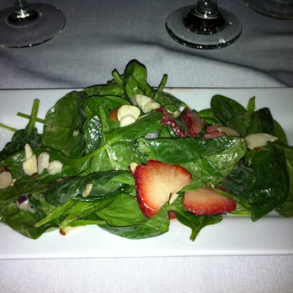 Spinach Salad - The Wild Mushroom, Fort Worth, TX