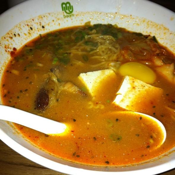 Kimchi Ramen - Boom Noodle, Seattle, WA