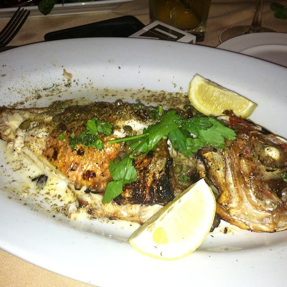 Grilled Red Snapper - Ammos Estiatorio, New York, NY