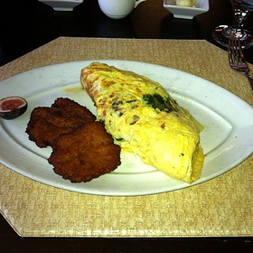 Overstuffed Omelet - Prime 108, Nashville, TN