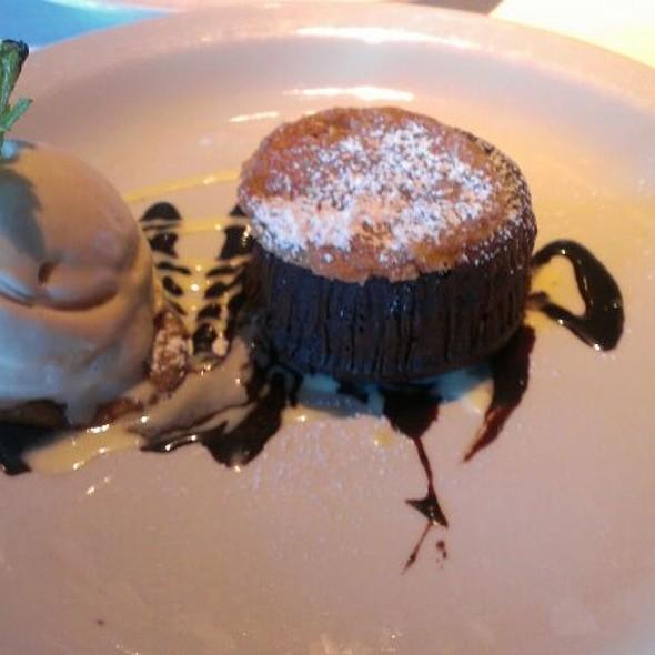 Chocolate Souflé - Bayside Restaurant, Newport Beach, CA
