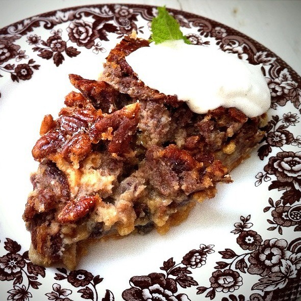 Buttermilk Pecan Pie - Sissy's Southern Kitchen & Bar, Dallas, TX