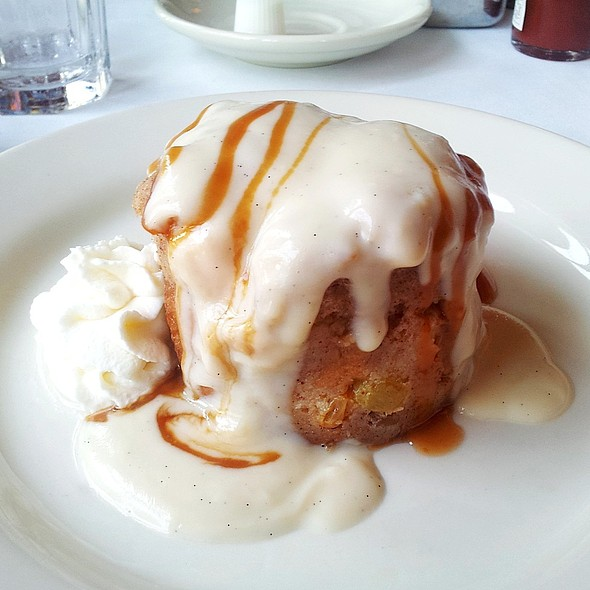 New Orleans Style Bread Puddin' - Tony Mandola's, Houston, TX