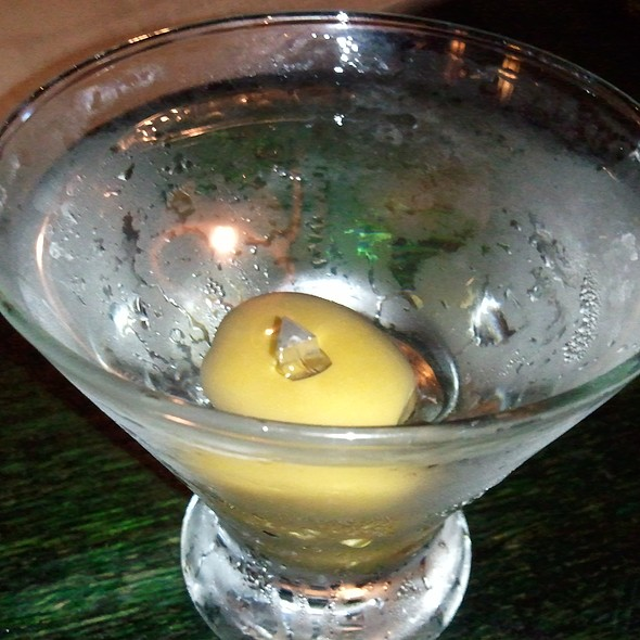 Grey Goose martini w/ 3 olives - Mie N Yu, Washington, DC