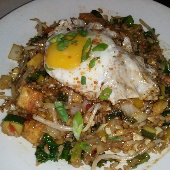 Market fried rice with crispy tofu - Mie N Yu, Washington, DC