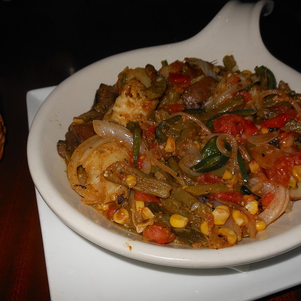 Vegetarian Tacos En Cazuela - Red Mesa Cantina, St. Petersburg, FL