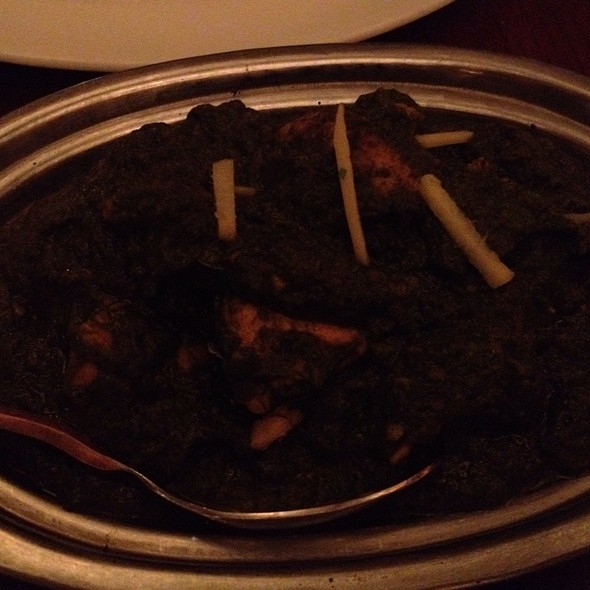 Saag Chicken - Maurya Indian Cuisine, Vancouver, BC