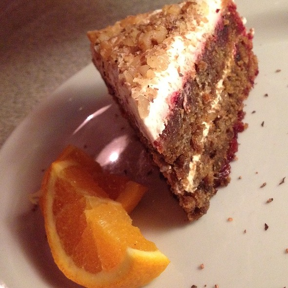 Beetroot Cake - Blue Plate Diner, Edmonton, AB