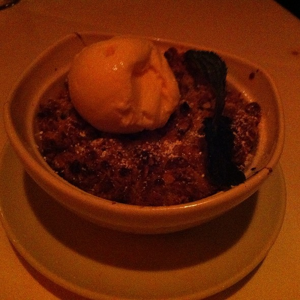 Peach Cobbler - Fleming's Steakhouse - San Diego, San Diego, CA