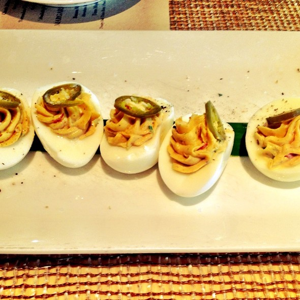 Dustin's Deviled Eggs - The Grove, Houston, TX