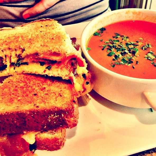 Grilled Cheese Sandwich - The Grove, Houston, TX
