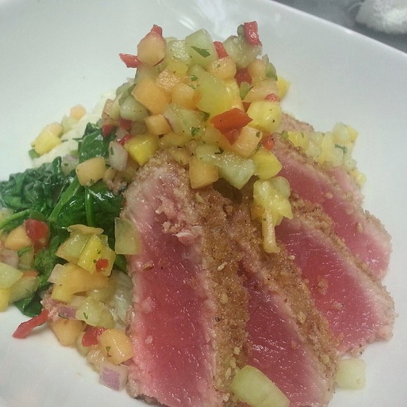 Pecan Crusted Ahi (Daily Special) - Genesee Grande - 1060 Restaurant, Syracuse, NY