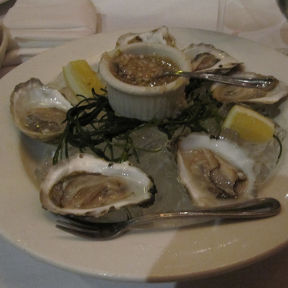 Oysters - Lucca North End, Boston, MA