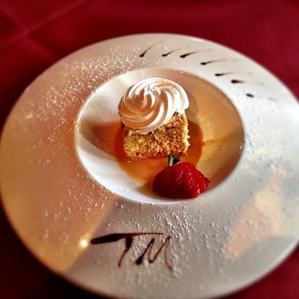 Cuatro Leches Cake - Tango & Malbec, Houston, TX